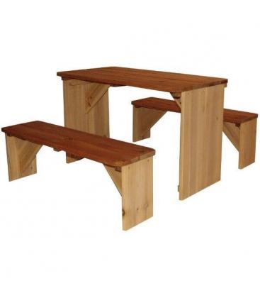 table en bois avec banc exterieur salon de jardin resine tressee vente flash banc et table de. Black Bedroom Furniture Sets. Home Design Ideas