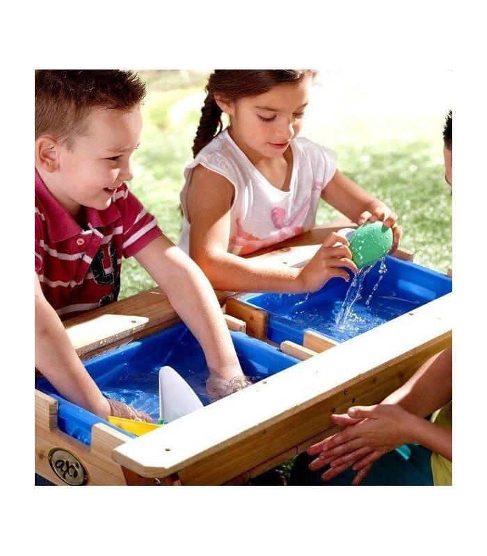 table de jeu en bois pique nique jouer au sable et l 39 eau axi. Black Bedroom Furniture Sets. Home Design Ideas