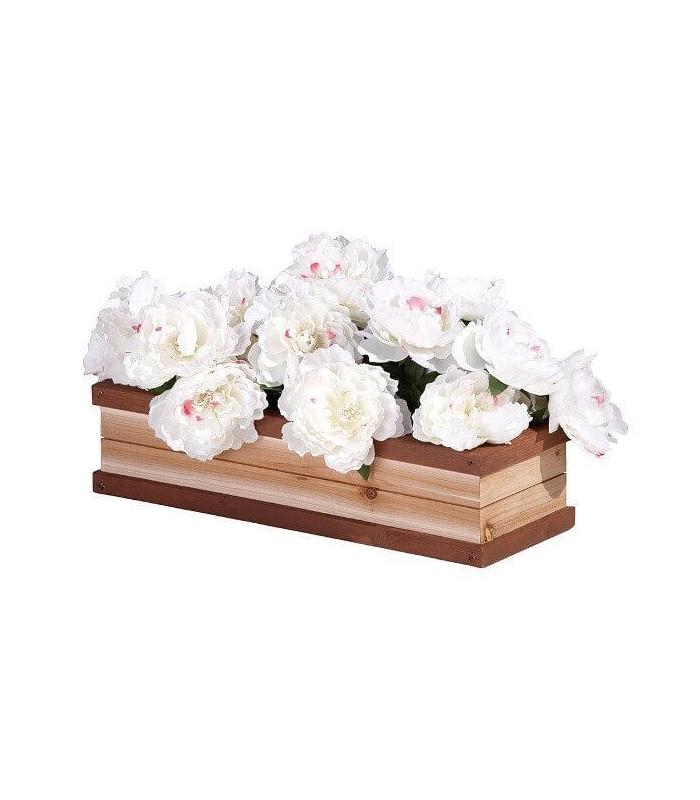 Accessoire bac a fleur maisonnette en bois axi for Plante pour bac a fleur