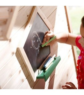 playground Chalkboard axi exotic wood