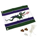 accessory flag for log cabin wood axi