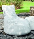 Outbag Beanbag Slope Outdoor texture skin-blanc
