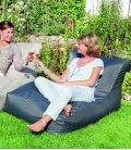 Outbag Wave Sofa de plein air tissu texture heavy duty - gris