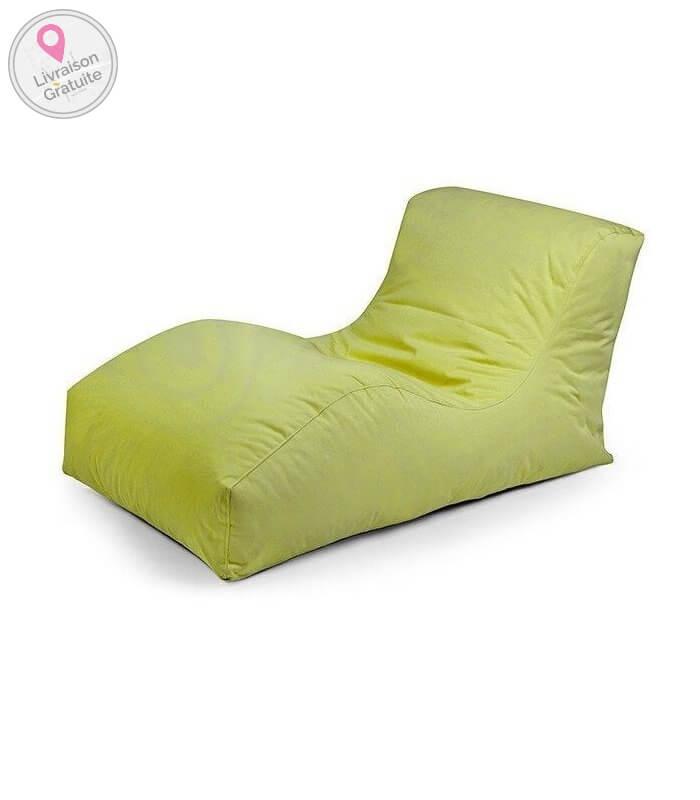 Pouf sofa de plein air wave outbag for Stores de bambou en plein air ikea