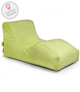 Outbag Wave Sofa de plein air tissu texture fabric-plus - vert lime