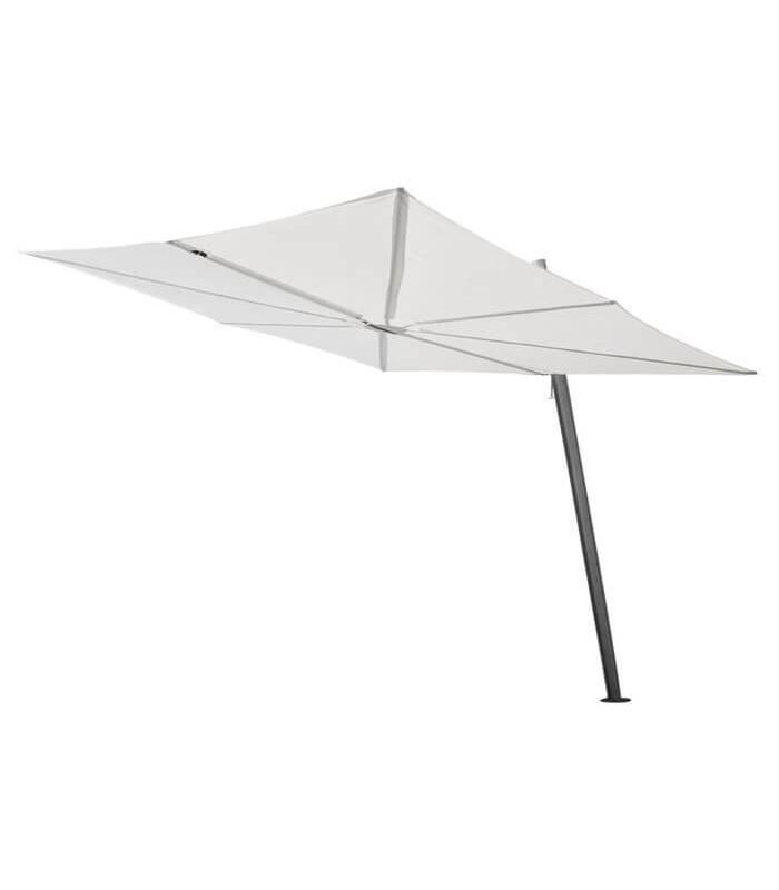 Spectra parasol carr 250cm d port le paradis du jardin - Parasol deporte carre ...