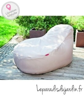 Slope beanbag of outdoor fabric