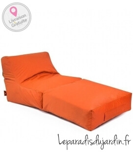 tissus fabric-plus Peak Sofa de plein air tissu coloris orange