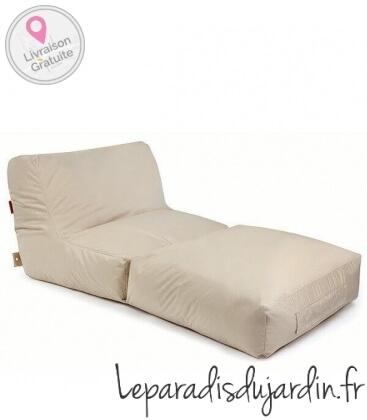 fabrics fabric-plus Peak Outdoor Sofa fabric beige color