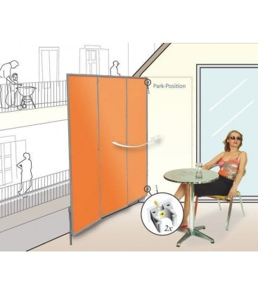 brise vue particulier et professionnel Paravent 3 Panneaux pliable bris vue terrasse
