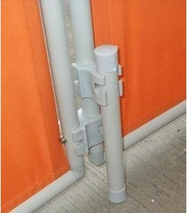 Support for screen rod