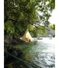 Small Hanging Hammock Tent Cacoon Bonsai color