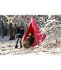Fauteuil moyen Tente hamac suspendue Cacoon Single coloris Fuchsia