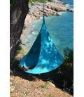 Medium armchair Hanging hammock Tent Cacoon Single Turquoise color
