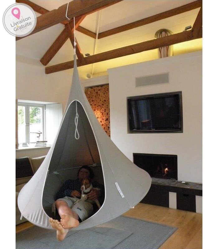 hamac cocon. Black Bedroom Furniture Sets. Home Design Ideas