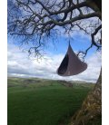 Large Tent Hanging Hammock Cacoon Double Taupe