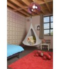 Small Hanging Hammock Tent Cacoon Bonsai Color Light Gray
