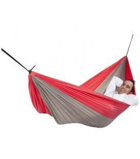 Skyfall double hammock red gray