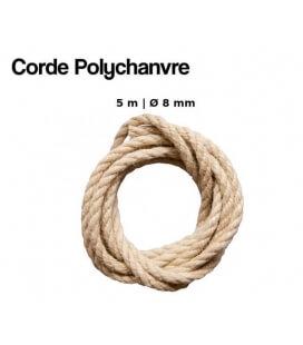 Corde Polychanvre 5 Mètres