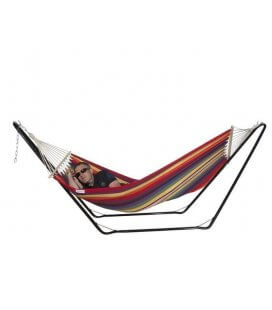 Hammock and Support Set Steely