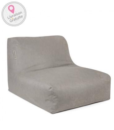 Pouf intérieur Chair cuir