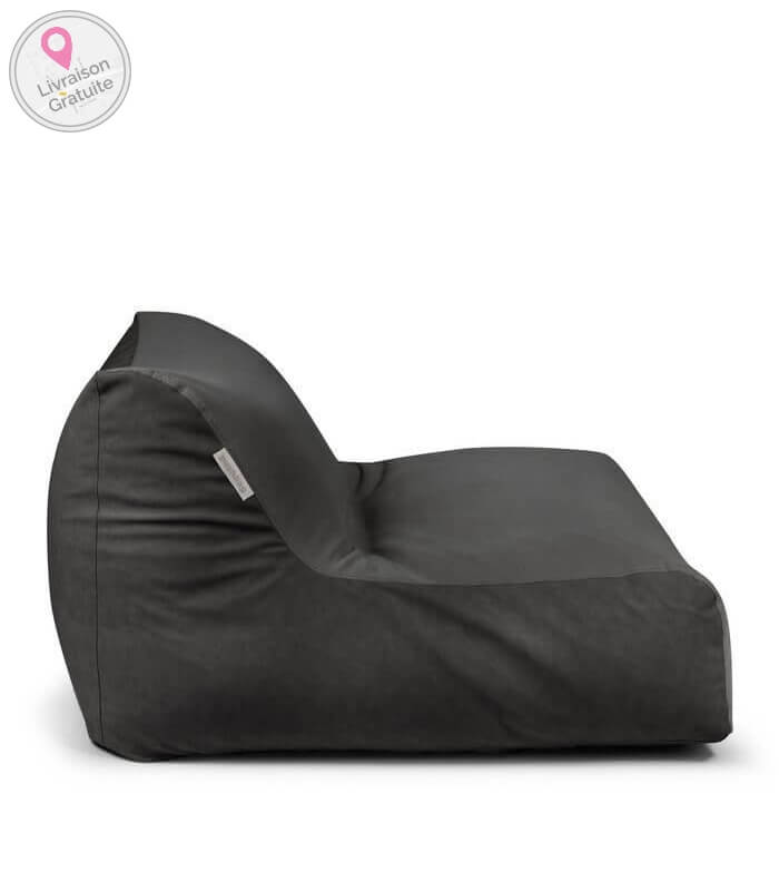 pushbag pouf coussin chair cuir tissu int rieur salon. Black Bedroom Furniture Sets. Home Design Ideas
