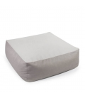 Pouf intérieur Easy Cuir Tissu