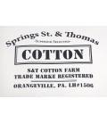Pouf intérieur Classic Canvas Cotton