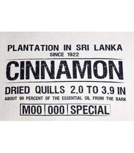 Pouf intérieur Classic Canvas Cinnamon