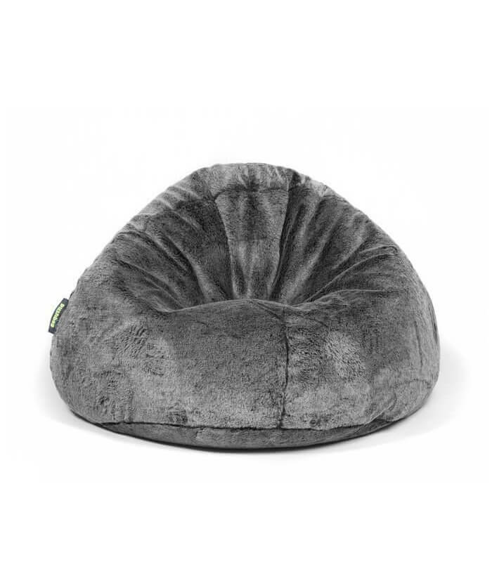Pouf int rieur bag 500 fur fourrure assise - Pouf geant interieur ...