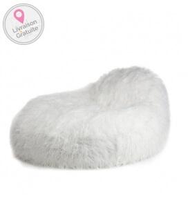 Pouf intérieur Seat XL Fur