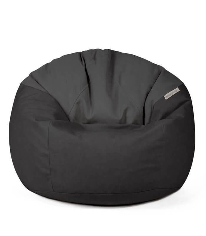 pouf int rieur toby cuir tissu poire coussin assise. Black Bedroom Furniture Sets. Home Design Ideas