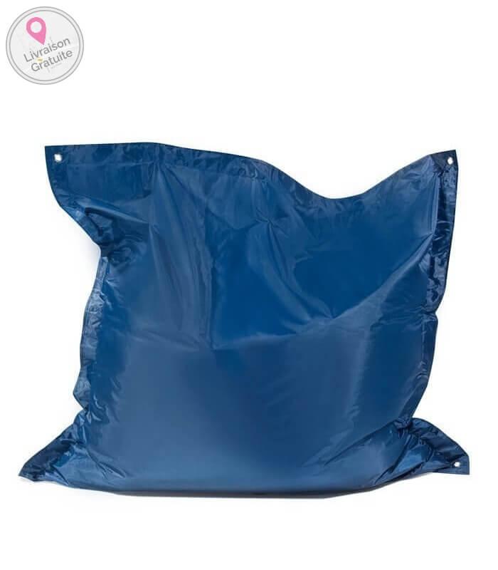 pushbag square oxford poire assise int rieur tissu polyester enfant pouf. Black Bedroom Furniture Sets. Home Design Ideas