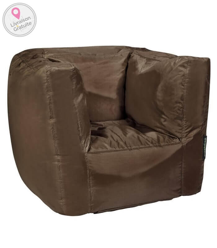 pushbag cube oxford tissu polyester int rieur pouf fauteuil. Black Bedroom Furniture Sets. Home Design Ideas