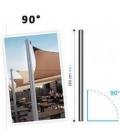 Aluminum mast 260cm Ingenua Umbrosa 90