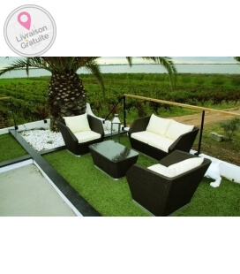 Salon de jardin 4 places avec table Club
