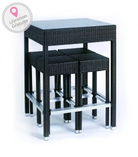 ensemble Table Bar + tabouret Alto