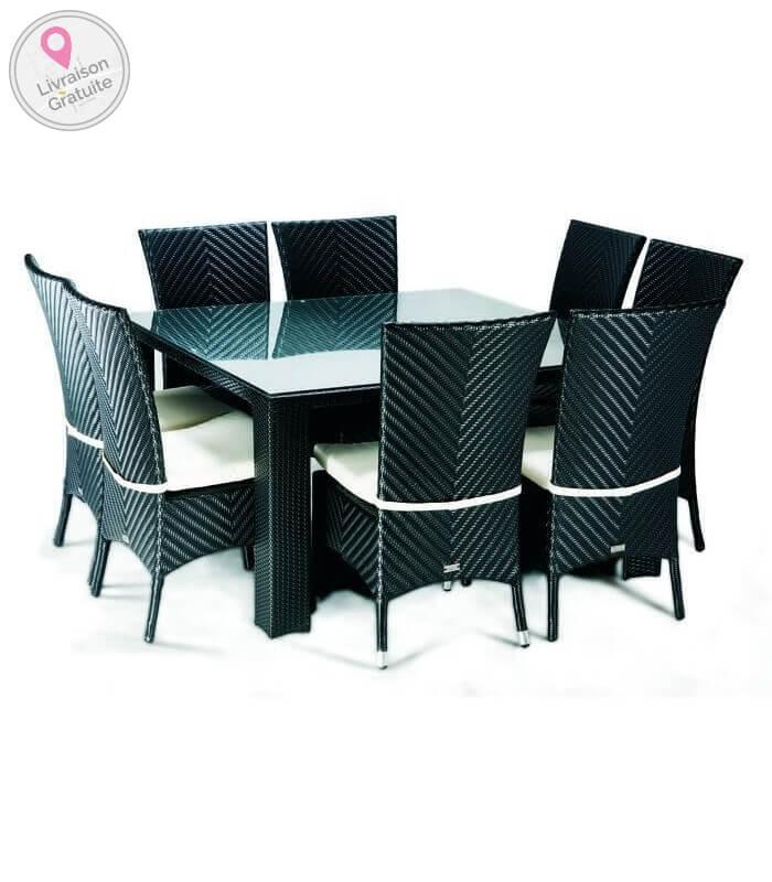 Chaise lounge le paradis du jardin - Table et chaises jardin ...