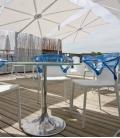 Spectra Parasol 300 cm deported Square