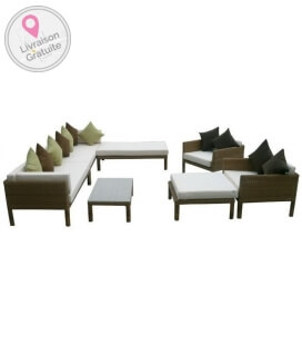 Garden furniture Adjustable lattitude