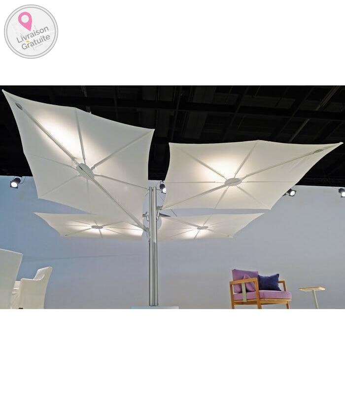 parasol d port carr grande taille spectra. Black Bedroom Furniture Sets. Home Design Ideas