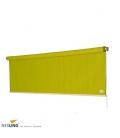 Store vertical hdpe pergola extérieur nouveau coloris vert citron