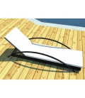 Karya deckchair with arch with very modern lines.