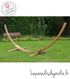"""ARC 320"" wood stand for jobek hammock"