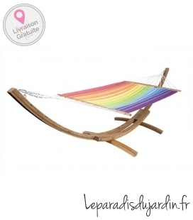 """ARC 400"" outdoor hammock stand by jobek"