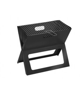 SBM Rectangular Charcoal Barbecue, Foldable