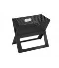 Barbecue à charbon SBM Rectangulaire Nomade, pliable