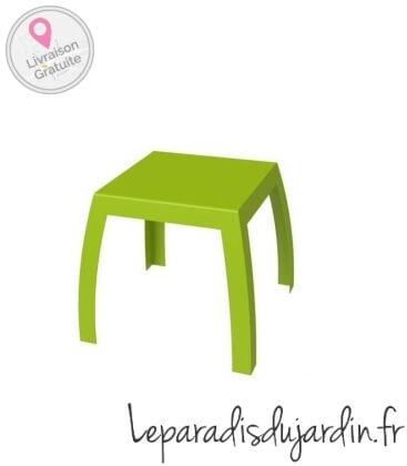Maya table white fuschia black green