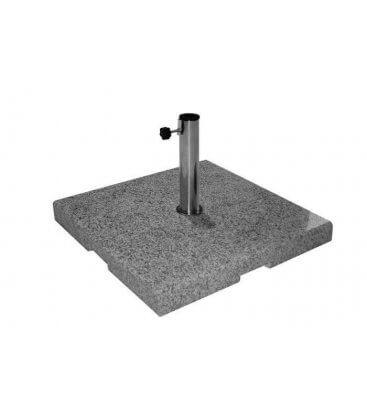 Base carrée en granit Infina