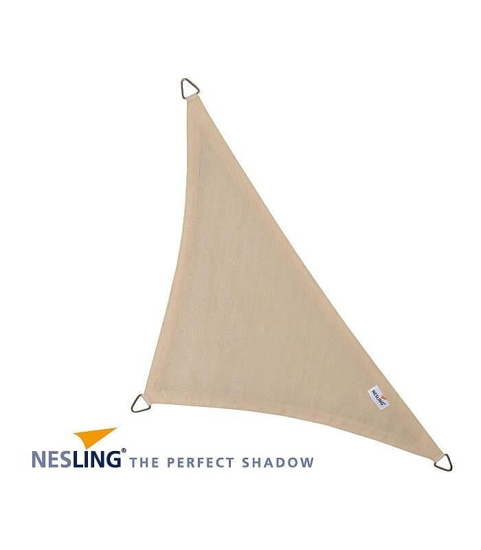 Voile d 39 ombrage haut de gamme poly thyl ne triangle - Voile d ombrage triangle rectangle ...